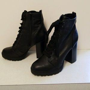 Brand new Steve Madden Combat Boots